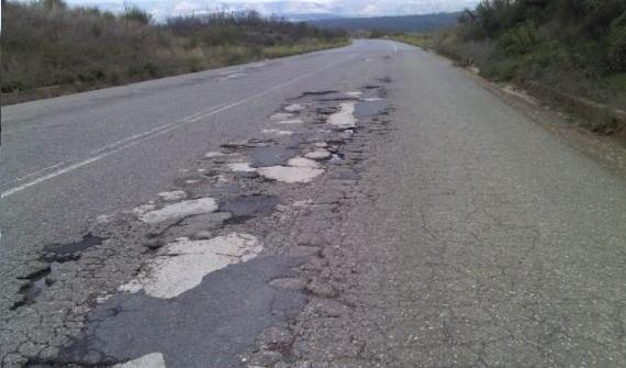 Ερώτηση για την επικινδυνότητα του οδικού δικτύου
