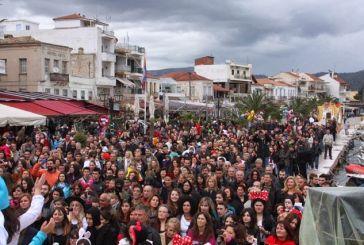 Ξεφάντωμα στο καρναβάλι του Αστακού!