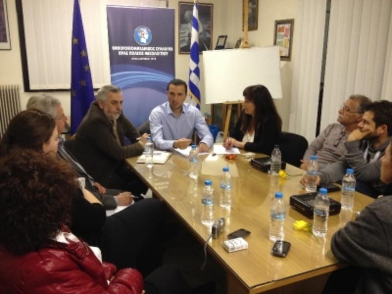 Συνάντηση Παπαδόπουλου- Εμποροβιομηχανικού Συλλόγου
