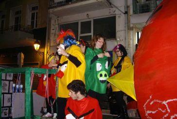 Τελευταία συνάντηση των καρναβαλιστών πριν την παρέλαση στη Ναύπακτο