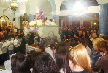 Πλήθος κόσμου στην περιφορά Επιταφίου Ι.Ν.Αγίου Θωμά Αγρινίου