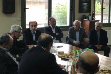 Συνάντηση Kατσιφάρα με την Ε.Α.Σ. Μεσολογγίου και Ναυπακτίας