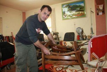 Ο τελευταίος… των σαμαροποιών, Γιώργος Μαύριακας, στο Καραϊσκάκη Ξηρομέρου