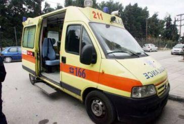 Ναύπακτος: Τροχαίο με τραυματισμό 89χρονου οδηγού δικύκλου