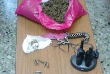 Δύο συλλήψεις για χασίς στο Μεσολόγγι