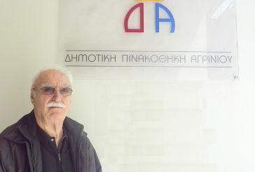 Για «πολιτισμική αύρα» στο Αγρίνιο κάνει λόγο ο γλύπτης Θόδωρος
