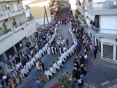Kορυφώνεται ο εορτασμός για τον Πολιούχο του Αγρινίου