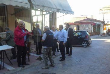 Περιοδεία Θεόδωρου Μπαμπαλή στους ετεροδημότες της Αιτωλοακαρνανίας