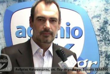 Aνδρέας Κατσανιώτης στο agriniotv: Η ανατροπή που ξεκίνησε  θα ολοκληρωθεί την Κυριακή