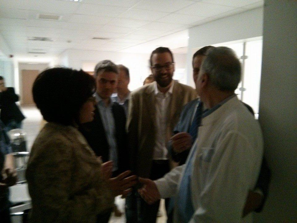 Προτάσεις Φαρμάκη για το Νοσοκομείο, στήριξη στα συσσίτια του Αγίου Δημητρίου