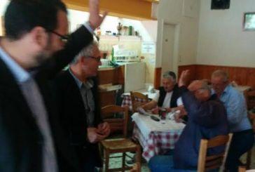 Περιοδεία Φαρμάκη στα χωριά της ενότητας Νεάπολης