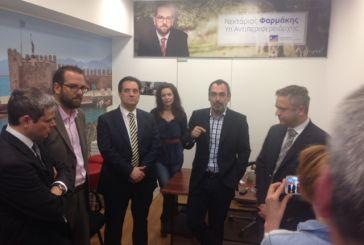 """Γεωργιάδης: Η Δυτική Ελλάδα θα αλλάξει εποχή με """"τιμονιέρη"""" τον Κατσανιώτη"""