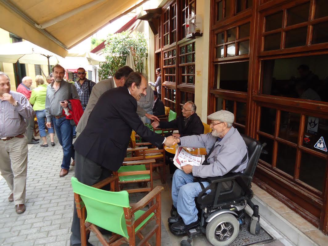 Χατζηλάμπρου: Περιοδεία σε Μεσολόγγι, ομιλία απόψε στο Αγρίνιο