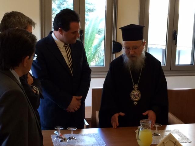 Video από την επίσκεψη του Άδωνι Γεωργιάδη στο Αγρίνιο