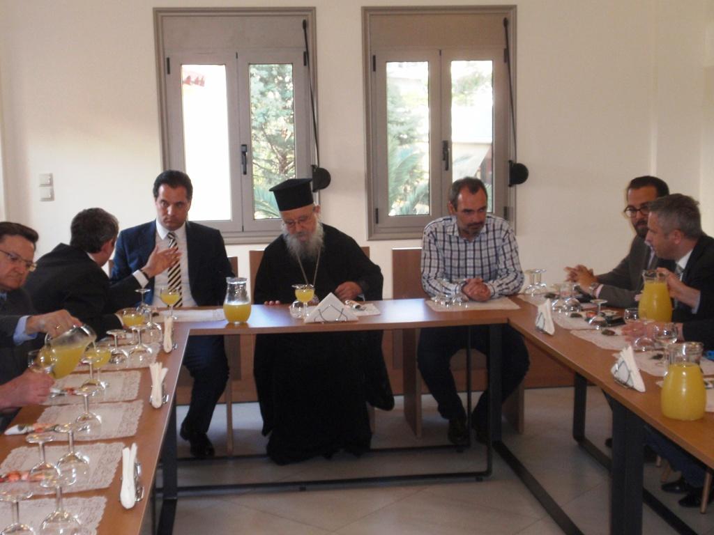 Μητρόπολη για τη συνάντηση με Γεωργιάδη: αντικείμενο ήταν η ανέγερση Ναού στο νέο Νοσοκομείο