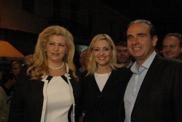 Εγκαινίασε το εκλογικό κέντρο η Ντίνα Σαμαρά-την προλόγισε η Νατάσα Ράγιου