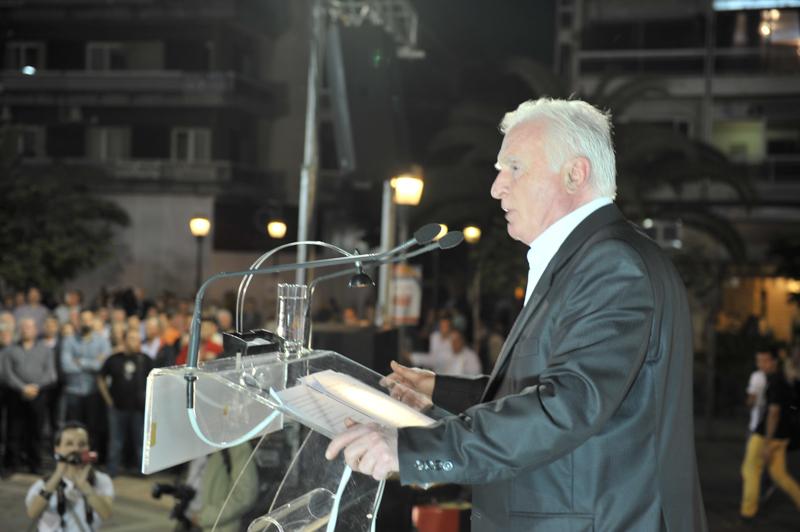 Μοσχολιός: «Το Αγρίνιο θα κρατήσει τη δημοκρατική του παράδοση» (video)