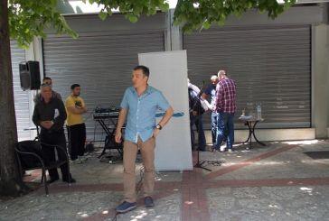 Video από την παρουσία του Σταύρου Θεοδωράκη στο Αγρίνιο