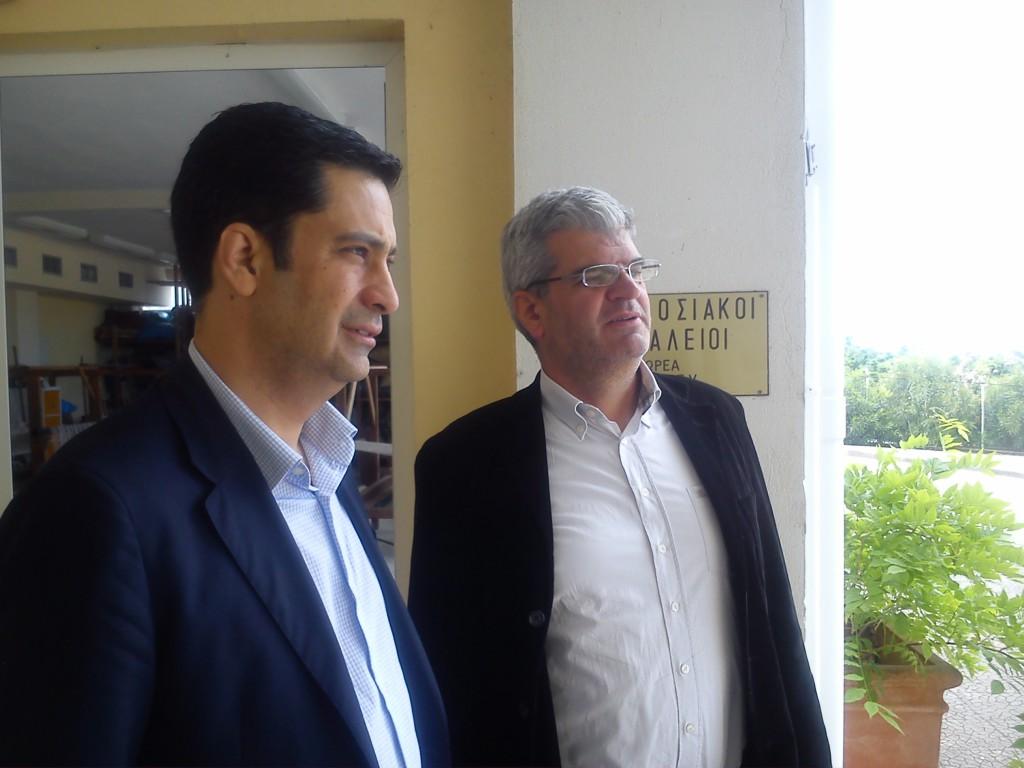 """Επίσκεψη Παπαναστασίου στο """"Παναγία Ελεούσα"""""""
