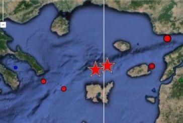 Iσχυρή σεισμική δόνηση 6,5 βαθμών στο Αιγαίο
