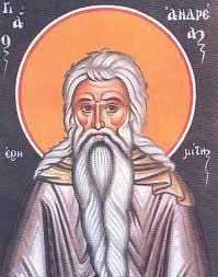 Εορτασμός Αγίου Ανδρέα του Ερημίτη στην Αθήνα
