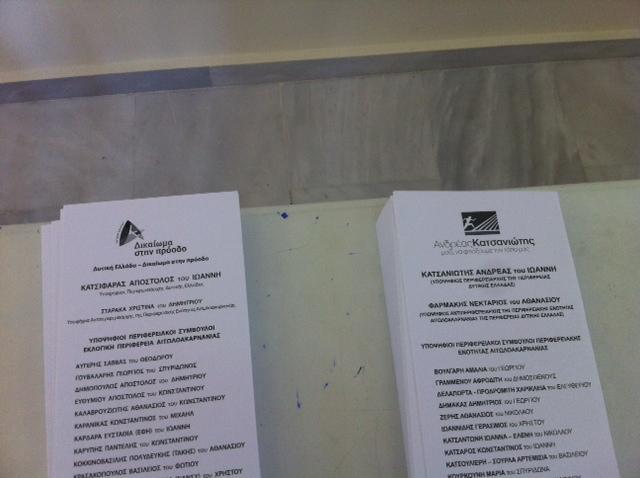Αποτελέσματα για Περιφέρεια σε  27/ 570 τμήματα της Αιτωλοακαρνανίας