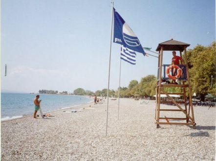"""Τρεις παραλίες με """"Γαλάζια Σημαία"""" στην Αιτωλοακαρνανία"""