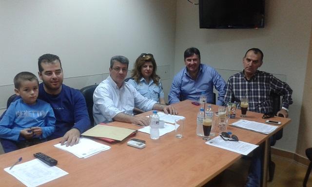 Η Ν. Φούντα σε συνάντηση εργασίας με Αστυνομικούς Υπαλλήλους