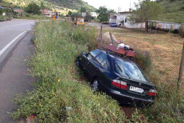 Τροχαίο ατύχημα στην Αμφιλοχία στο ύψος του Δημοτικού Σταδίου