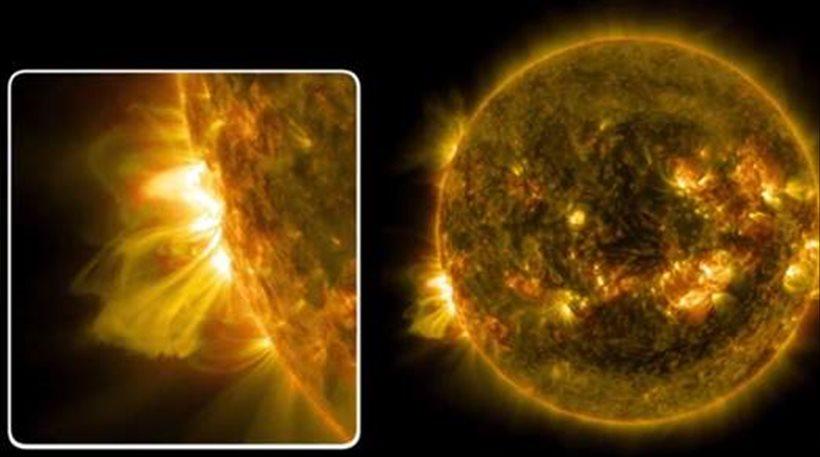 Συναγερμός για ηλιακή καταιγίδα που πλησιάζει τη Γη, αύριο Παρασκευή και 13!