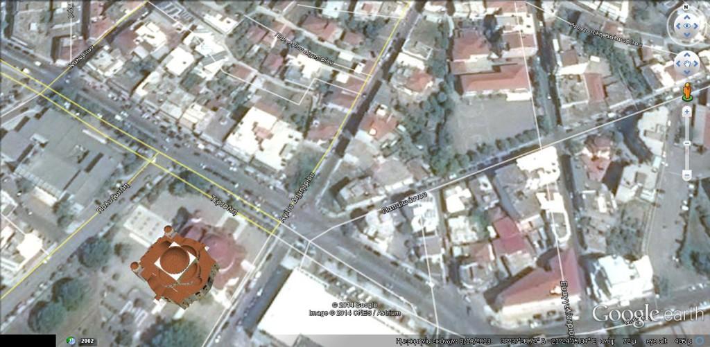 Ο τρισδιάστατος Hi-Tec Ναός του Αγίου Δημητρίου (η μοναδίκη εκτός Street View)
