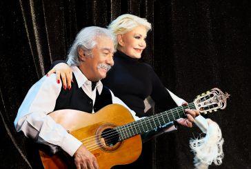 Μαρινέλλα και Χατζής επί σκηνής στο Aγρίνιο