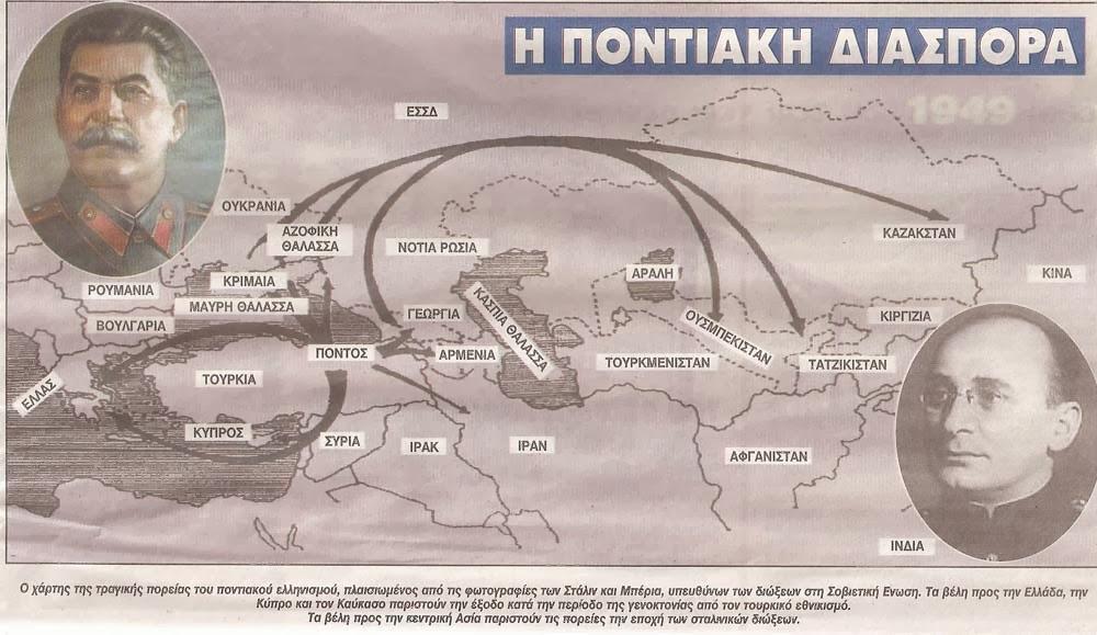 13η  Ιουνίου: ημέρα μνήμης για το διωγμό του ποντιακού ελληνισμού στην πρώην Σοβιετική Ένωση ,από τον Στάλιν