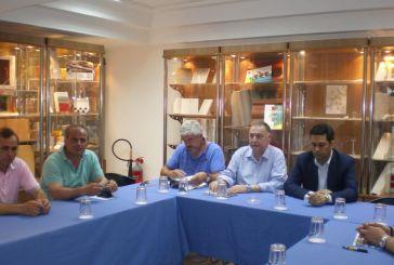 Συνάντηση Παπαναστασίου με τους εκπροσώπους της τοπικής αγοράς