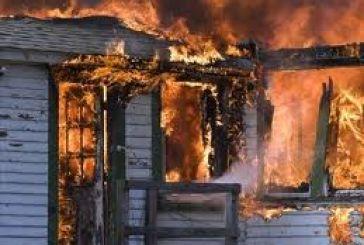 Κάηκε σπίτι στην Αγία Σοφία Θέρμου