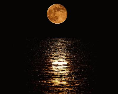 πορτοκαλι φεγγάρι