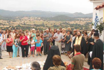 Με λαμπρότητα γιορτάστηκε η Αγία Μαρίνα στον Αετό
