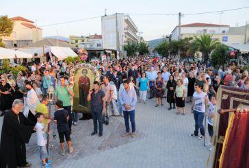 Η εορτή του Αγίου Παντελεήμονος στην Βόνιτσα (φωτό)