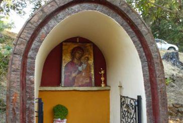 Εσπερινός στο ιστορικό ξωκκλήσι και κρυφό σχολειό του Αγίου Παντελεήμονα Σταμνάς