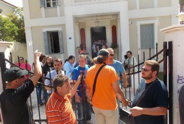 Αντιδράσεις και κινητοποιήσεις για τη «μικρή ΔΕΗ» στο Αγρίνιο (φωτο)