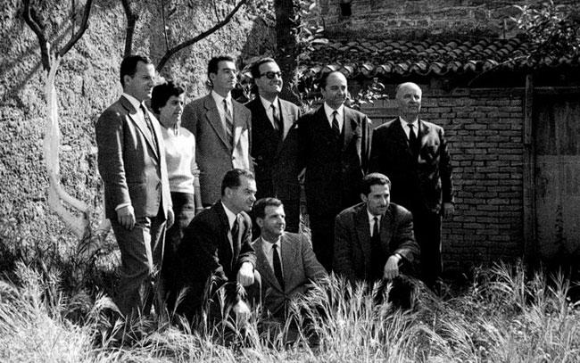 Ο Σαρτζετάκης στο Αγρίνιο το 1962