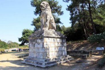 Εντυπωσιακός τάφος αποκαλύπτεται στην Αρχαία Αμφίπολη