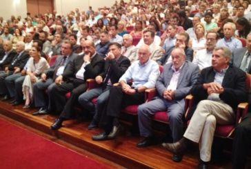 Ο Γιώργος Παπανδρέου στην τελετή ορκωμοσίας του Περιφερειακού Συμβουλίου Δυτικής Ελλάδας