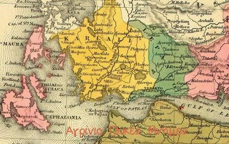 Πόλεις, χωριά και οικισμοί της περιοχής μας, το 1836 και 1845