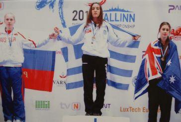 Χρυσό στο Παγκόσμιο Πρωτάθλημα Tae Kwon Do για την Μαρία Λεκατσά