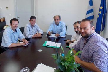 Συνάντηση Κατσιφάρα με αντιπροσωπεία του ΤΕΕ Δυτικής Ελλάδας