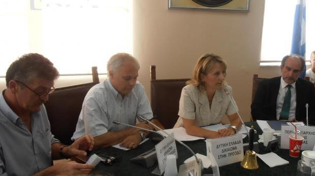 Το νέο προεδρείο του Περιφ. Συμβουλίου Δυτ . Ελλάδας
