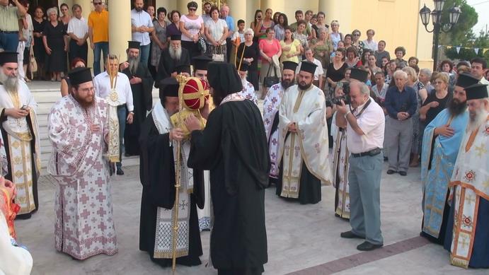 Υποδοχή της Ιεράς Κάρας του Αγίου Ιωάννη του Βραχωρίτη (φωτό)