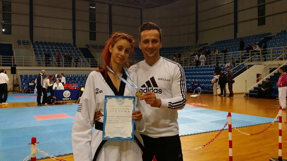 Ειρήνη Λαχανά: H πρωταθλήτρια taekwondo που εκπροσωπεί το Αγρίνιο στο πανευρωπαϊκό της Αυστρία