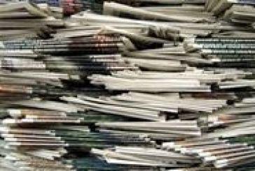 Τα πρωτοσέλιδα των κυριακάτικων εφημερίδων…
